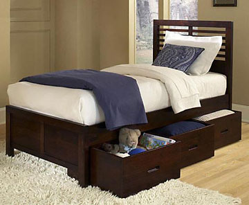 Sumatra Storage Bed